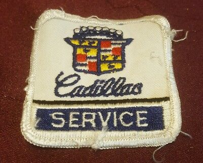 Used Vintage Cadillac Service Patch 2 1/2  X 2 1/2   • 4.50$