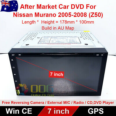 "AU325 • Buy 7"" Car DVD GPS Navigation Head Unit Stereo For Nissan Murano 2005-2008 (Z50)"