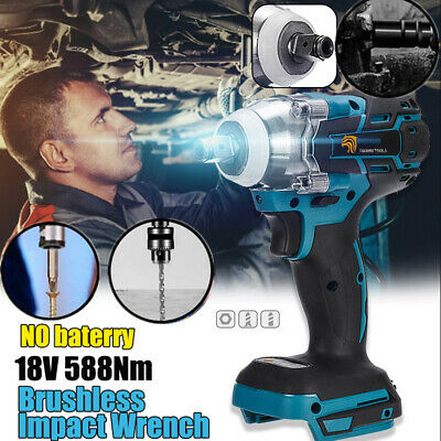 Torque Impact Wrench Brushless Cordless Replacement For Makita Battery DTW285Z Q • 31.88£
