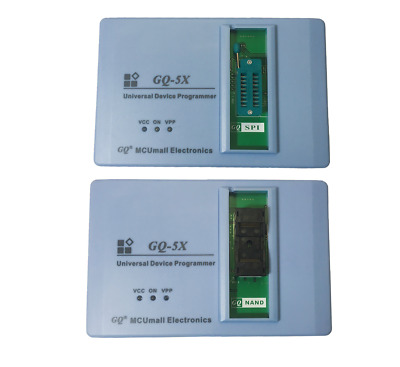 A Package Of MCUmall PRG-120 GQ-5X NAND And PRG-121 GQ-5X SPI Flash Programmer • 120.14£