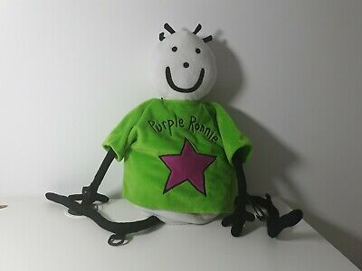Purple Ronnie Large Character Plush Bag Comic Con, Novelty  • 9.99£