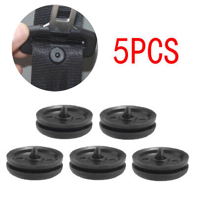 $ CDN1.26 • Buy 5PCS Car Part Clips Seat Belt Stopper Buckle Button Fastener Safety Accessories