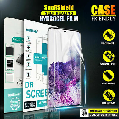 $ CDN5.49 • Buy Samsung Galaxy S10 S8 S9 Plus Note 8 9 10+ HYDROGEL Full Cover Screen Protector