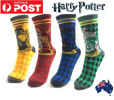 AU9.99 • Buy Harry Potter Fun Gryffindor Ravenclaw School Ankle Crew Socks Costume Cosplay AU