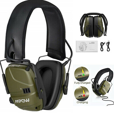 £32.39 • Buy MPOW Electronic Ear Defenders Rechargeable Shooting Hearing Earmuffs Protector