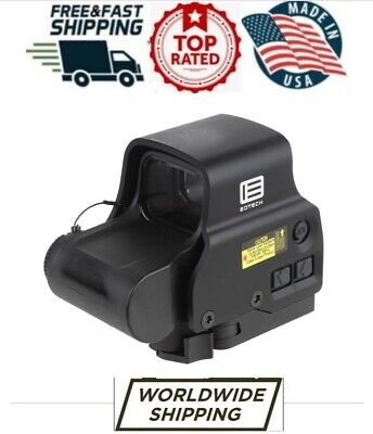 $650 • Buy New 2019 Eotech Exps3-0 Black Holographic Weapon Sight 68 Moa Ring 1 Moa Dot