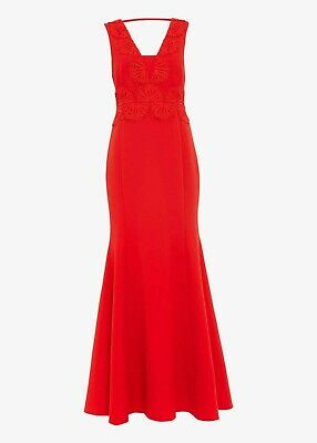 £29.95 • Buy Ex Phase Eight Avelyn Maxi Dress In Red Size 10