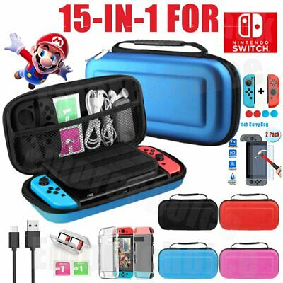 Switch Case Hard Shell Travel Carrying Protective Storage Bag Cover For Nintendo • 7.59$