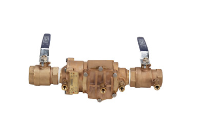 $344.25 • Buy Febco 1 1/4  850-QT DC 1114 Double Check Valve Backflow Preventer