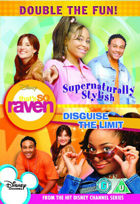 That's So Raven: Supernaturally Stylish/ Disguise The Limit DVD (2008) • 20.73£