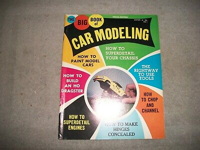 Big Book Of Car Modeling Magazine Vol. 1 # 1 First Issue Car Models/slot Cars • 9.99$