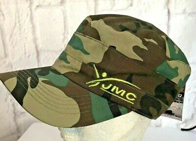 £8.99 • Buy JMC Fly Fishing Hat Cap Cubaine Camouflage Trucker Army One Size Small Mens