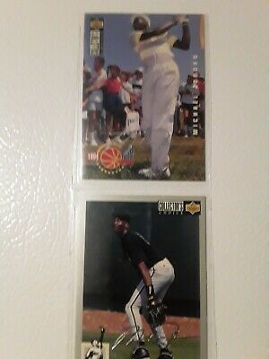 $200 • Buy Micheal Jordan 1994 Upper Deck Golf & Baseball Card