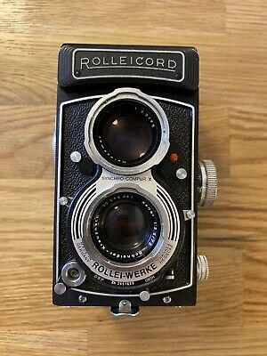 View Details Rolleicord Vb Type 2 Twin Lens Reflex TLR Camera, Retro, XENAR 3.5 75mm • 300.00£