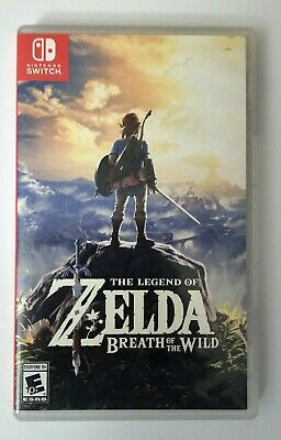 Legend Of Zelda: Breath Of The Wild (Nintendo Switch, 2017) • 44$