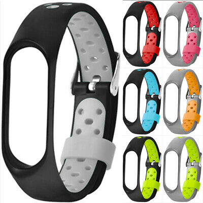 For Xiaomi Mi Band 3 4 Breathable Sports Replacement TPE Wrist Band Watch Strap • 3.09$