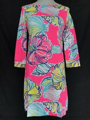 SALE Lilly Pulitzer - Under The Sea Vibrant Print Dress - S • 34.99$