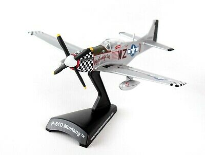 $29.95 • Buy Postage Stamp Usaaf P-51d  Big Beautiful Doll  1:100 Scale Diecast Metal Model
