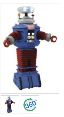 AU87.05 • Buy Lost In Space B9 Retro Style Electronic Robot Figure DST