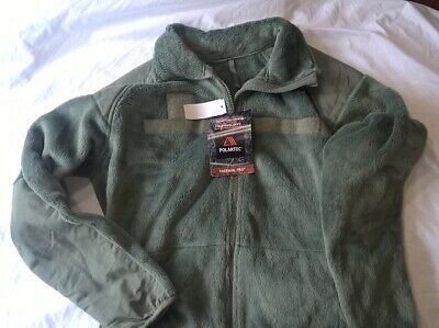NWT Military Polartec Thermal Pro Jacket ECWCS Fleece Large Regular Foliage • 27.99$