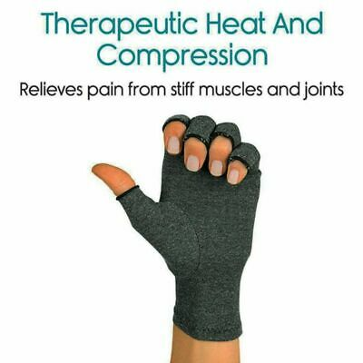 US Anti-Arthritis Compression Gloves Hand Support Carpal Tunnel Computer-Typing • 7.52$