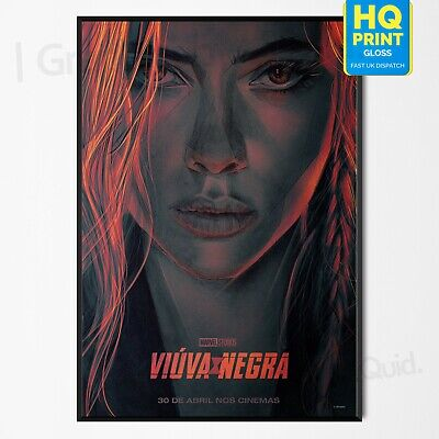 Marvel Comics Black Widow Cover Poster New Laminated Available