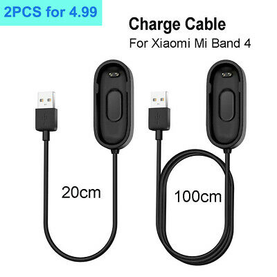 $3.59 • Buy Charging Cable Cord For Xiaomi Mi Band 4 ,Mi Band 4 Charging Charger 20cm &100cm
