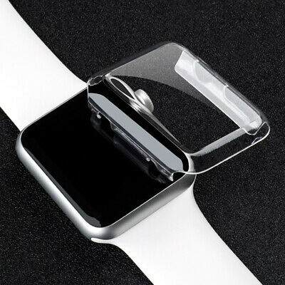 $ CDN2.35 • Buy Screen Protector Cover For Apple Watch Series 2 38mm TPU IWatch Case Transparent