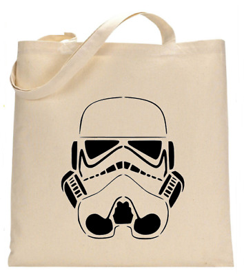 £6.49 • Buy Shopper Tote Bag Cotton Canvas Cool Star Wars Wolf Music Ideal Gift Present