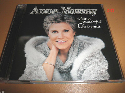ANNE MURRAY Cd WHAT A WONDERFUL CHRISTMAS Holiday SILENT NIGHT Silver Bells XMAS • 15.99$