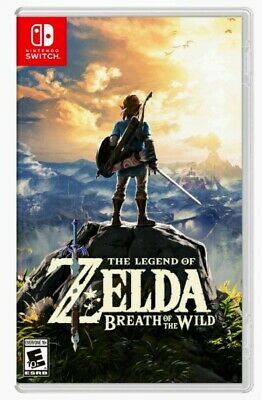 The Legend Of Zelda: Breath Of The Wild Nintendo Switch Brand New! • 50.79$