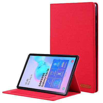 AU16.28 • Buy Magnetic Fabric TPU Case Cover For Samsung Galaxy Tab S5e S6 10.5  A 10.1  8.0