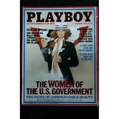 $ CDN25.74 • Buy PLAYBOY US 1980 11 NOVEMBER JEANA TOMASINO Mardi Jacquet INTERVIEW Larry Hagman