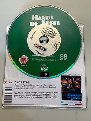 Hands Of Steel * DISC ONLY * DVD Sergio Martino 1986 Italian Collection • 5.88£