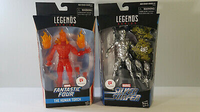 Marvel Legends Silver Surfer & Human Torch - Walgreens Exclusive - NEW SEALED • 69.95$