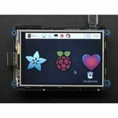 AU104.28 • Buy Adafruit PiTFT Plus 3.5in Touchscreen For Raspberry Pi