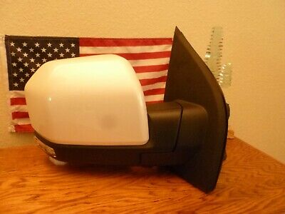 $297 • Buy New Factory Ford F-150 2015-18 Passenger Mirror, POWER FOLDING CAMERA White Cov