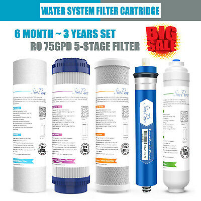 Reverse Osmosis Carbon Water Filter Cartridge Replacement For 5 6 7 Stage System • 12.26£