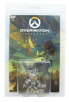AU34.99 • Buy Overwatch Hanger Mini Figure & Comic Book Set - Reinhardt