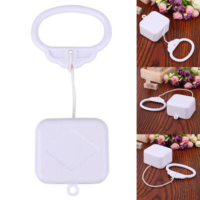 Pull String Cord Music Box White Baby Infant Kids Bed Bell Rattle Toy Gift Toys • 5.78£