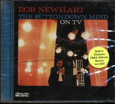 Bob Newhart: The Button-Down Mind On TV CD BRAND NEW & SEALED • 14.99£