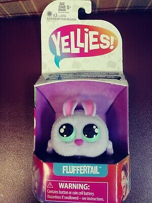$13.99 • Buy Yellies! Fluffertail Voice-Activated Bunny Pet Toy, New In Box