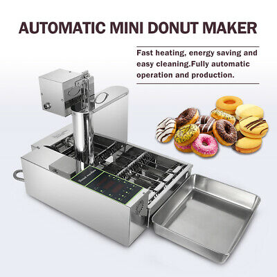 £1176.60 • Buy Commercial Automatic Donut Machine Electric Chocolate Doughnut 4 Rows 2000W