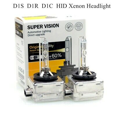 AU36.99 • Buy 6000K D1S D1R HID Xenon Headlight Bulbs Globes Replace For Philips For Osram