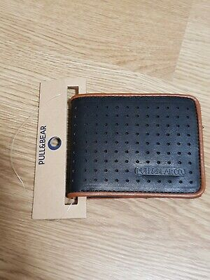 AU24.95 • Buy Pull And Bear Men's Wallet; Black And Brown