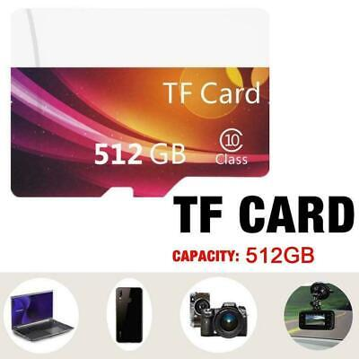 $4.65 • Buy For 10 High Speed Micro Sd Tf Memory Card 512gb D4r2 H1y9 F5k0