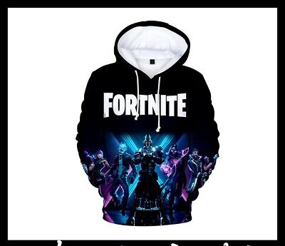 $ CDN13.07 • Buy LIMITED Men Women Kids Fortnight Gamer 3D Battle Royale Warm Hoodies Sweatshirts