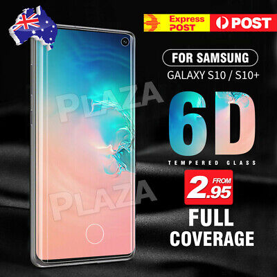 AU6.95 • Buy Galaxy S10 S9 S8 Plus S10e Note 9 8 Tempered Glass Screen Protector For Samsung