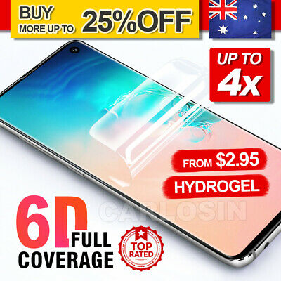 AU2.95 • Buy HYDROGEL Screen Protector For Samsung Galaxy S10 5G S9 S8 Plus Note 10+ 8 9 S7