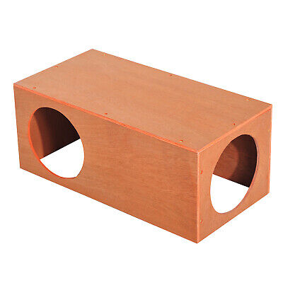 Pawhut MDF Cat House Pet Kitty Home Rabbit Cage Play Waterproof Shelter Hide • 19.99£